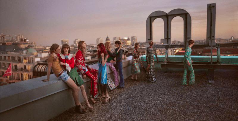 <i>Berlin calling</i> – <b>Gucci</b> SS16 campaign